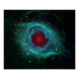 Dust & the Helix Nebula Poster