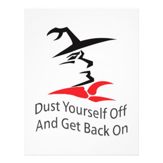 DUST YOURSELF OFF PERSONALIZED LETTERHEAD