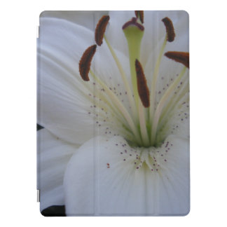 Dusted White Lily iPad Pro Cover