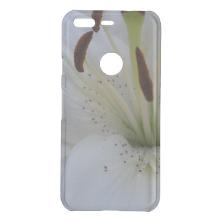 Dusted White Lily Uncommon Google Pixel Case