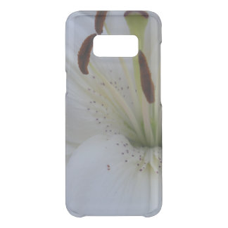 Dusted White Lily Uncommon Samsung Galaxy S8 Case