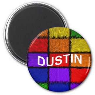 DUSTIN 2 INCH ROUND MAGNET