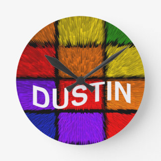 DUSTIN CLOCK
