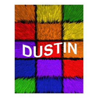 DUSTIN CUSTOM LETTERHEAD