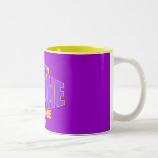 Dustin Divine Belt Logo Mug