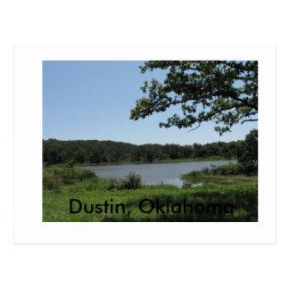 Dustin Lake1, Dustin, Oklahoma Postcard