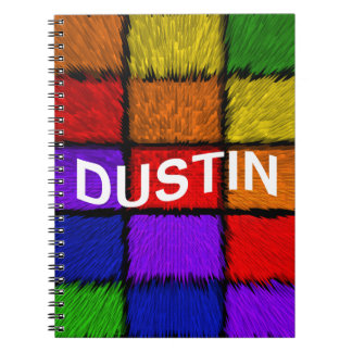 DUSTIN NOTE BOOK