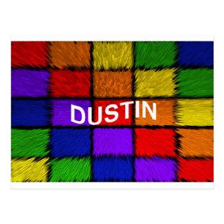 DUSTIN POSTCARD