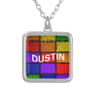 DUSTIN SILVER PLATED NECKLACE