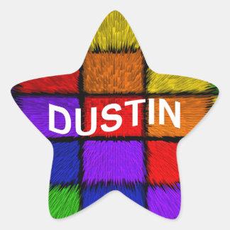 DUSTIN STAR STICKER