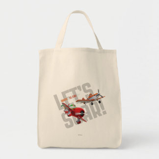 Dusty and El Chu - Let's Soar! Tote Bag