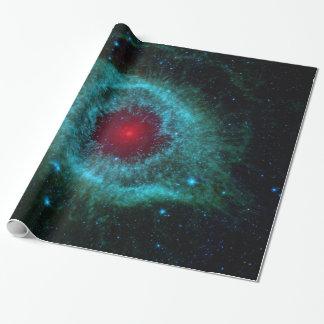 Dusty Eye of Helix Nebula NGC 7293