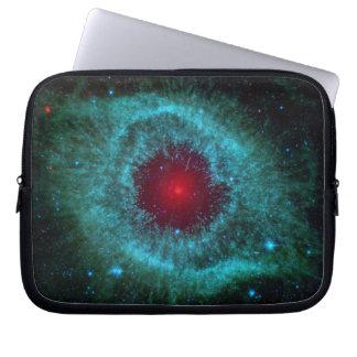 Dusty Eye of Helix Nebula NGC 7293 Laptop Sleeve
