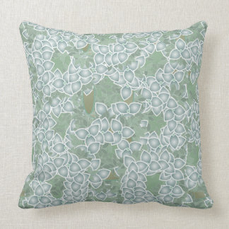 Dusty Green Leaves PIllow