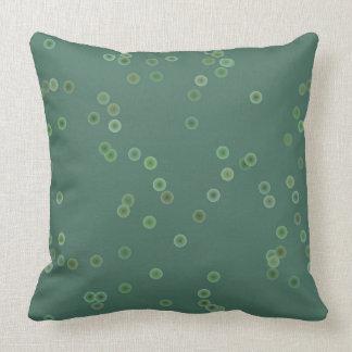 Dusty Green Polka Dots Pillow