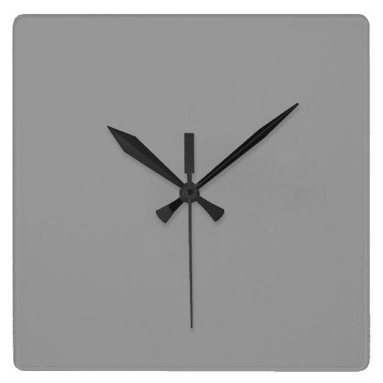 Dusty Grey Wall Clock