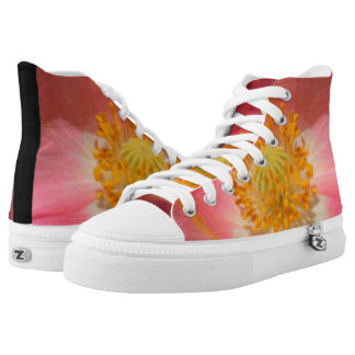 Dusty Pink Colored Poppy High Tops