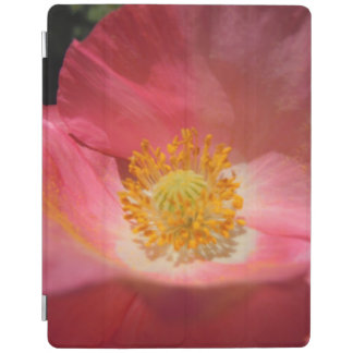 Dusty Pink Colored Poppy iPad Cover