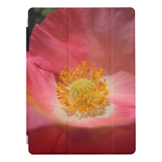 Dusty Pink Colored Poppy iPad Pro Cover