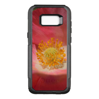 Dusty Pink Colored Poppy OtterBox Commuter Samsung Galaxy S8+ Case