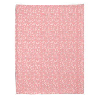 Dusty Pink Floral Duvet Cover