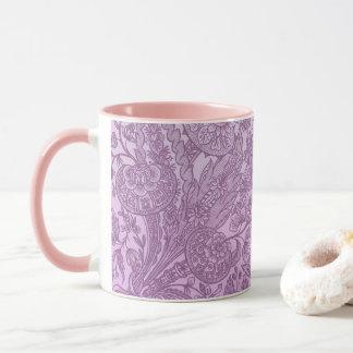 Dusty pink ornament mug