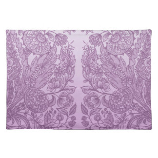 Dusty pink ornament placemat