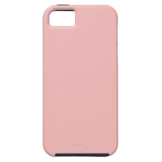 Dusty Pink Peach Vintage Apricot 2015 Color Trend iPhone 5 Cases