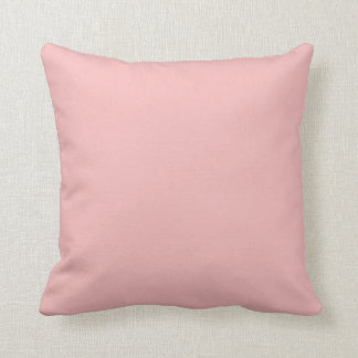 Dusty Pink Peach Vintage Apricot 2015 Color Trend Throw Pillow