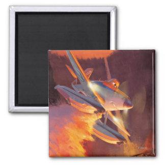 Dusty - Piston Peak Fire Dept Magnet