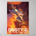 Dusty - Piston Peak Fire Dept Poster