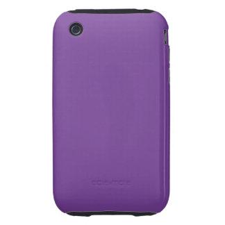 Dusty Purple Colour iPhone 3 Tough Cases