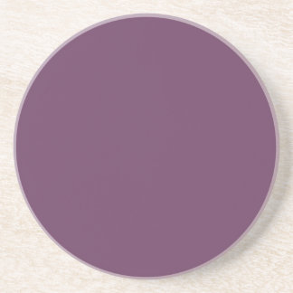 Dusty purple Trend Color Customized Template Blank Beverage Coaster