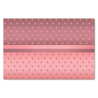 Dusty Rose and Coral Tissue Paper