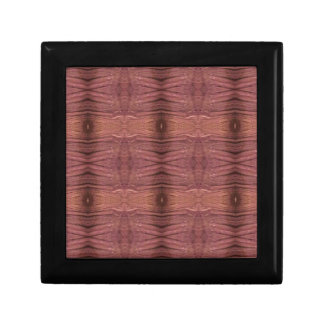 Dusty Rose Burgundy Modern Funky Pattern Gift Box