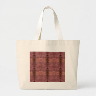 Dusty Rose Burgundy Modern Funky Pattern Large Tote Bag