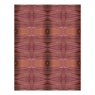 Dusty Rose Burgundy Modern Funky Pattern Personalized Letterhead