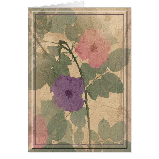 Dusty Rose Card