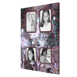 Dusty Rose Love Letters Photo Canvas