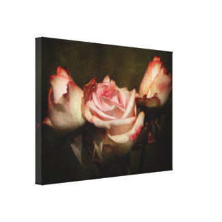 Dusty Rose Stretch Canvas Print