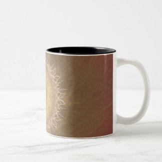 Dusty Rose Two-Tone Coffee Mug