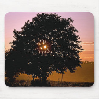 Dusty Sunset Mouse Pad
