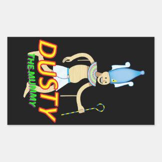 Dusty the Mummy stickers