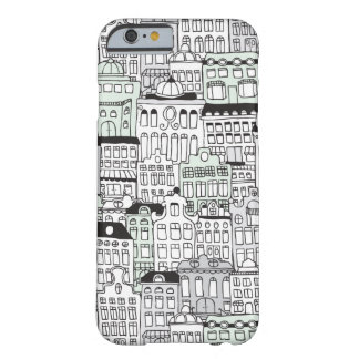 Dutch amsterdam illustration home pattern barely there iPhone 6 case
