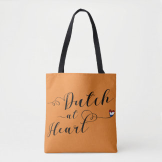 Dutch At Heart Grocery Bag, Netherlands Tote Bag
