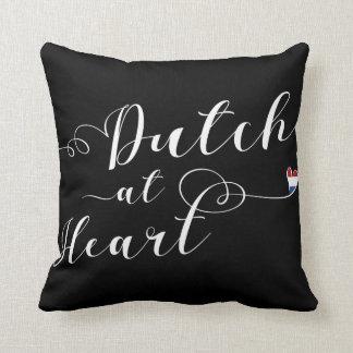 Dutch At Heart Throw Cushion, Holland Throw Pillow