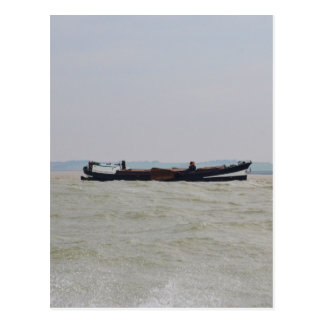 Dutch Barge Postcard