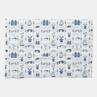 Dutch Blue tiles Kitchen Towel