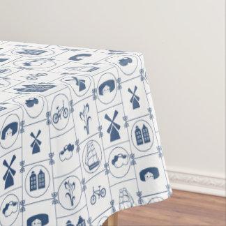 Dutch Blue Tradition Design Tablecloth