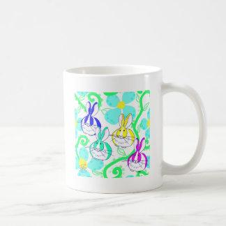 Dutch bunnies in the flowers coffee mug